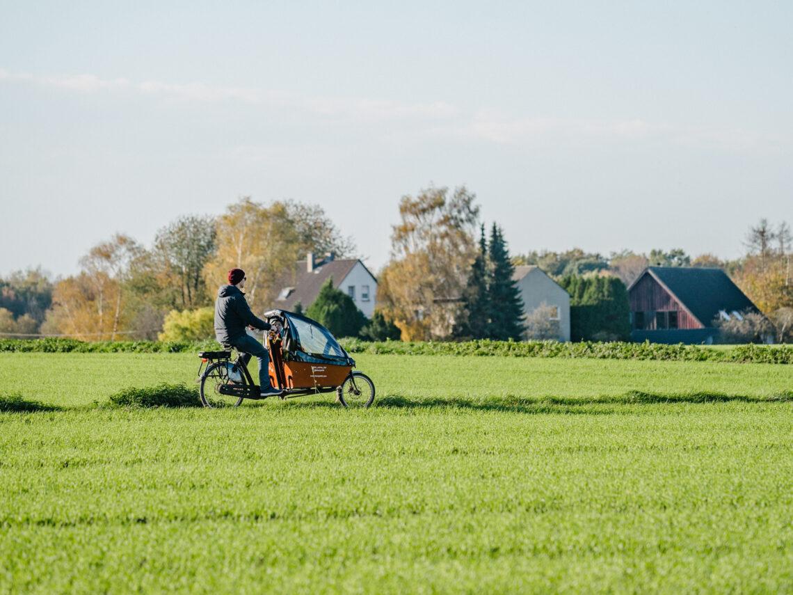 Fahrradfahren im Winter Tipps - Unterwegs mit dem Lastend