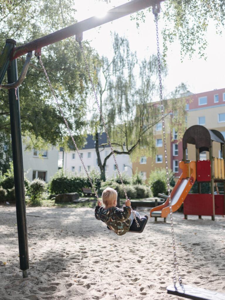 Spielplatz Plauener Straße Dortmund
