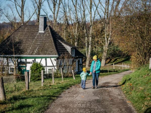 Wandern in Herdecke: Schöne Wanderroute mit Kindern zum Gut Schede
