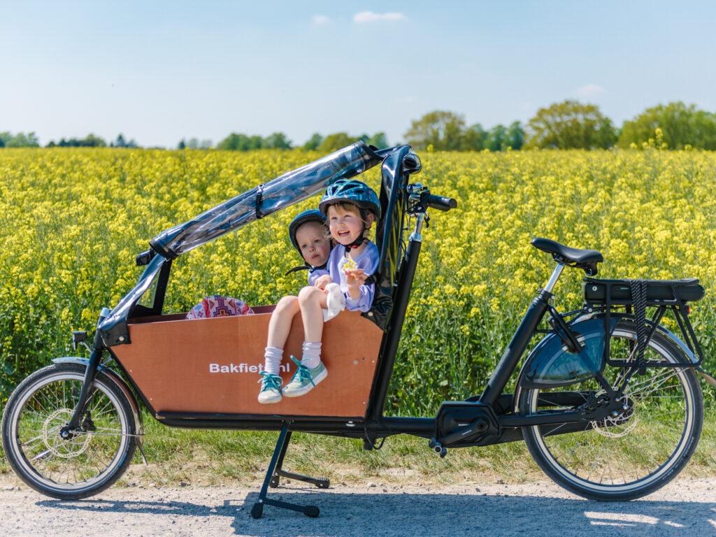Fahrradfahren in Dortmund  – eine Fahrradtour durch Hombruch für die ganze Familie