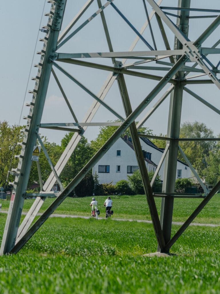 Fahrradtour Dortmund Familie
