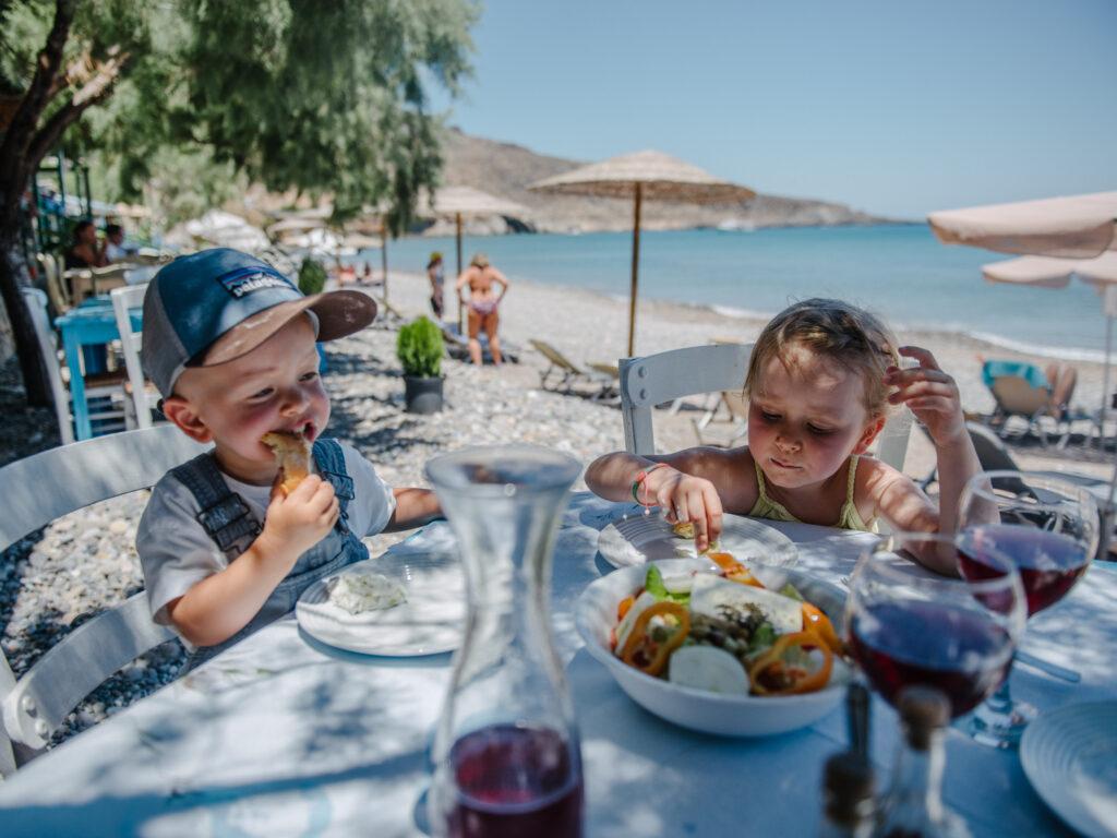 Genießt die ursprüngliche Küche Kretas - Geheimtipps Kreta mit Kindern