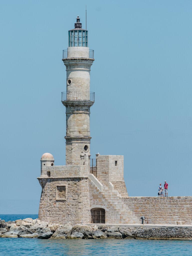 Chania venezianisches Hafen kreta